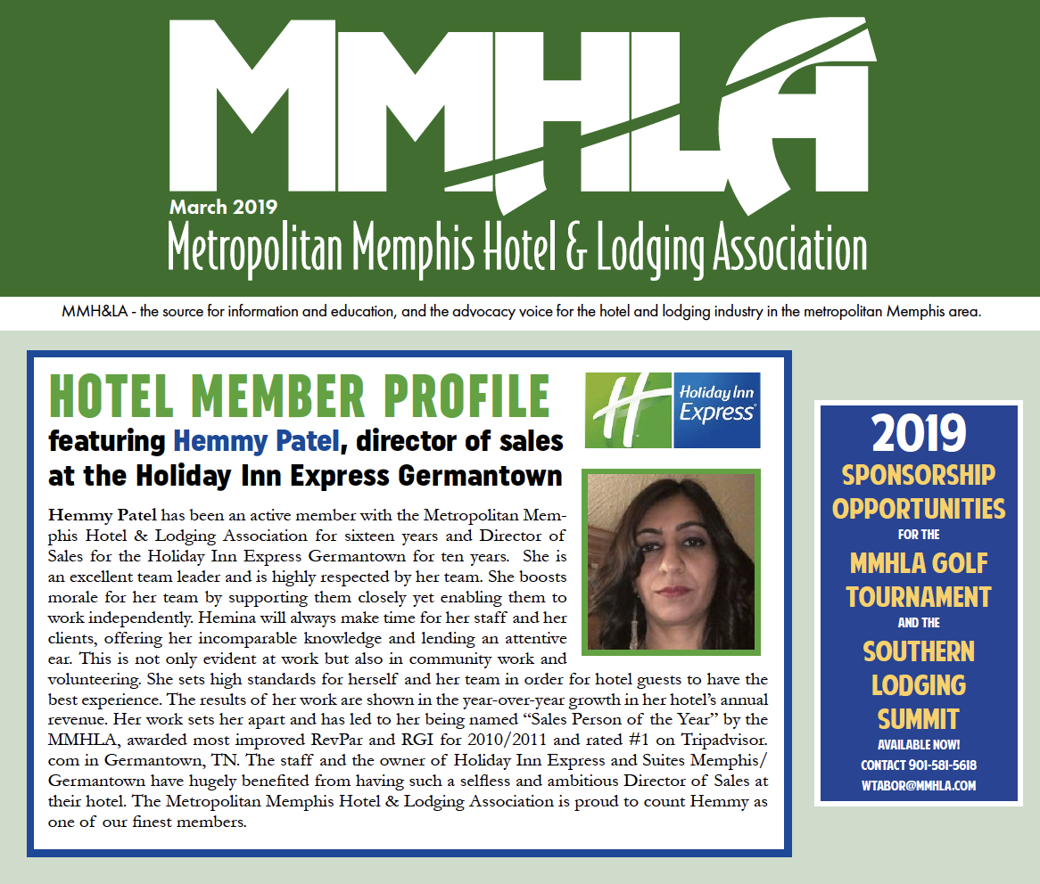 MMHLA March 2019 Newsletter